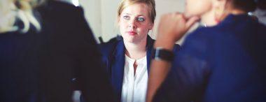 Een sollicitatiegesprek met een gedragstest